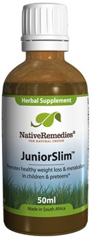 JuniorSlim for Safe Weight Loss and Management in Children and Preteens (50ml)