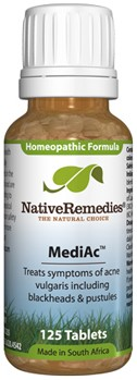 MediAc to Temporarily Treat Symptoms of Acne Vulgaris (125 Tablets)