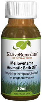 MellowMama Aromatic Bath Oil for Relaxation during Pregnancy (30ml)