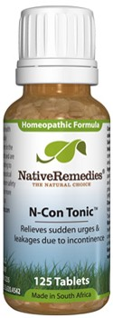 N-Con Tonic for Better Bladder Control (125 Tablets)