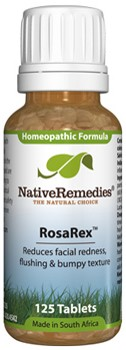 RosaRex to Temporarily Reduce Facial Redness (125 Tablets)