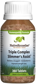 Triple Complex Slimmer's Assist for Increased Weight Loss (360 Tablets)