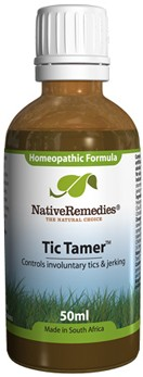 Tic Tamer for Involuntary Tic Control (50ml)