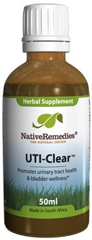 UTI-Clear Tincture for UTI and Bladder Infections (50ml)