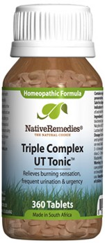 Triple Complex UT Tonic for Bladder Irritation (360 Tablets)