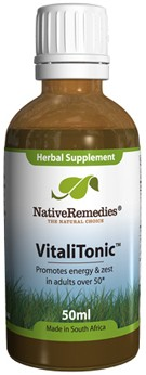 VitaliTonic for Energy and Zest Over 50+ (50ml)