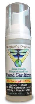Dragonfly Organix Non-Alcohol Foaming Hand Sanitizer