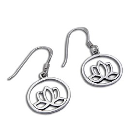 Enlightenment Lotus Earrings