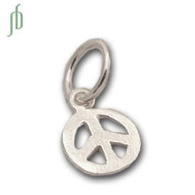 Peace Charm Silver