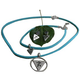 Communication Throat Chakra Jewelry Set - 17