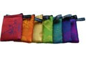 Chakra Silk Zip Purses - Set of 7 Colors
