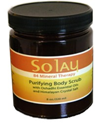 Solay Purifying Himalayan Body Salt Scrub - 8 oz