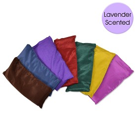 Large Silk Eye Pillow - Lavender Scented