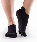 ToeSox Full Toe Low Rise Bella Grip Socks