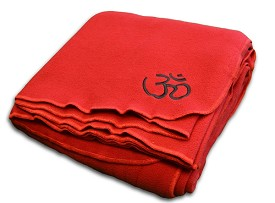 YogaAccessories Polyester Fleece Blanket
