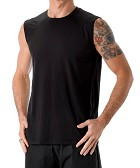 Mens Renew Elite Sleeveless Tee by be present
