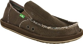 Hemp Mens Sandal Shoes by Sanuk