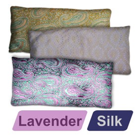 Deluxe Silk Eye Pillow - Lavender Scented