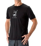 Be Present Men's Yoga Tee Shirt Buddha