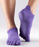 ToeSox Low Rise Grip Socks - Full Toe