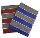 YogaAccessories Striped Blanket