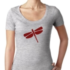 Dragonfly Women's Scoop Neck Top