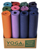 Point of purchase yoga mat display box
