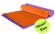 YOGA Accessories 1/4'' Extra Thick Deluxe Yoga Mat - Short