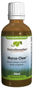 Mucus Clear For Phlegm Mucus And Throat Congestion 50ml