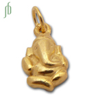 Lucky Ganesh Charm Gold
