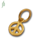 Peace Charm Gold