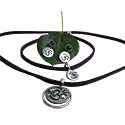Enlightenment Crown Om Chakra Jewelry Set - 17