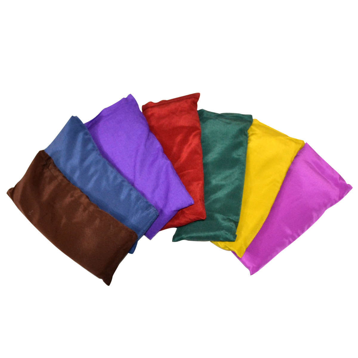 Small Silk Eye Pillow Unscented Yoga Accessories