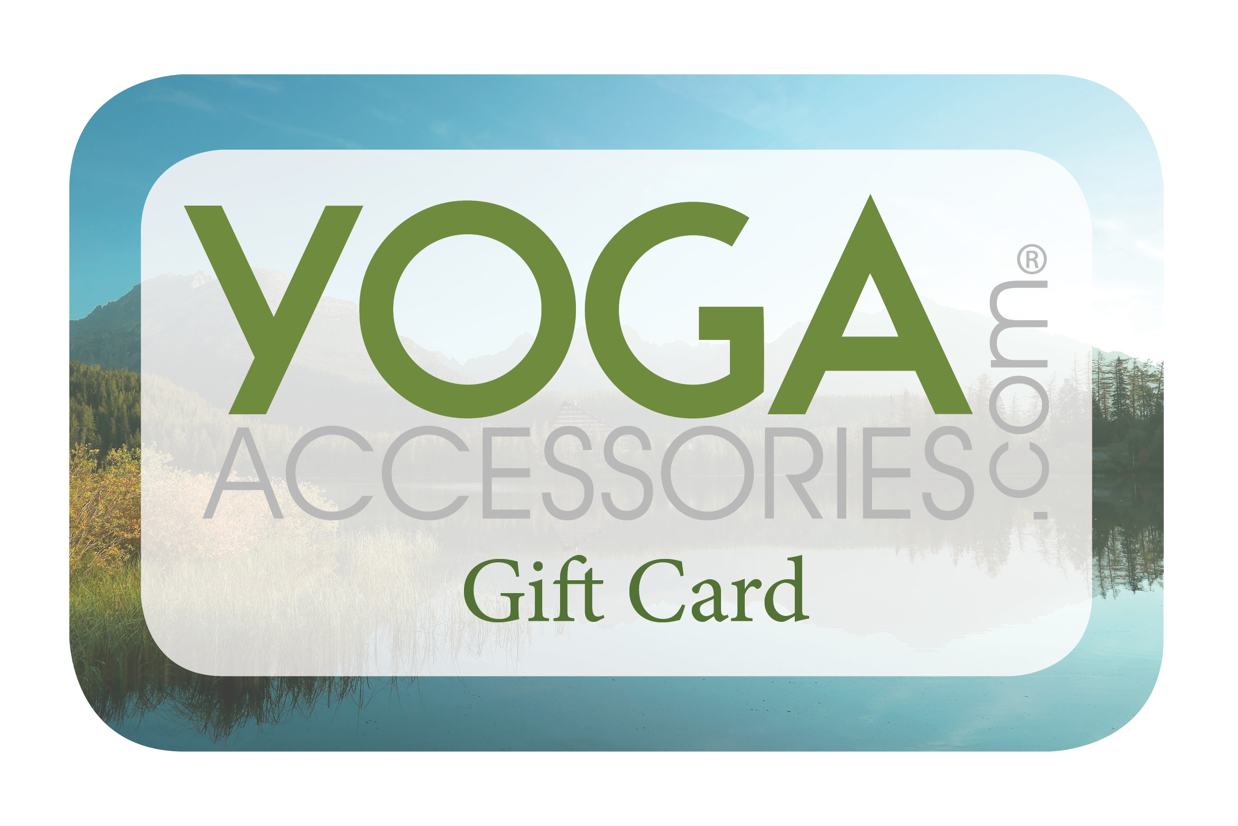Online Gift Card For YOGA Accessories Zoom