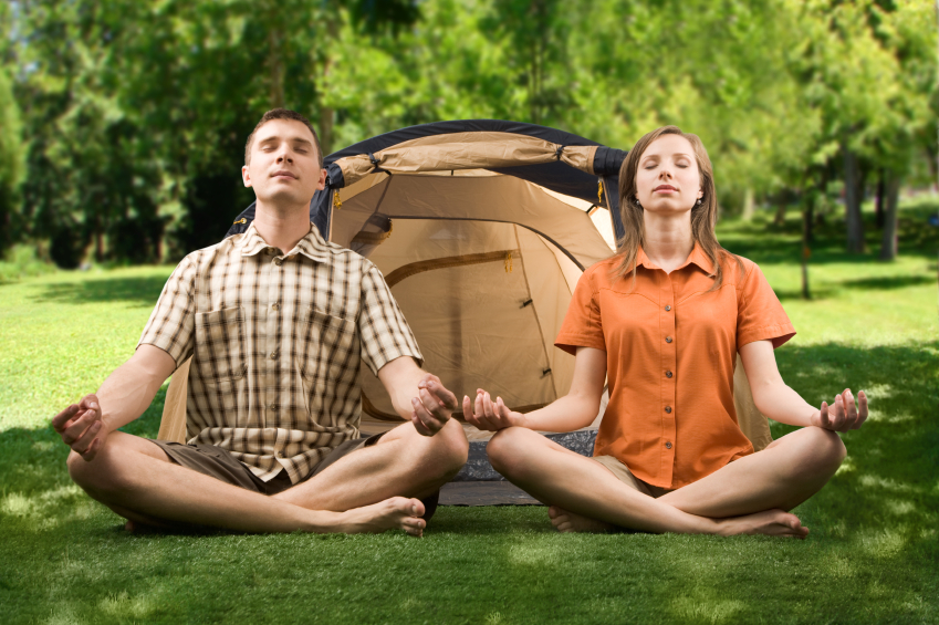 5 Yoga Moves To Relieve Camping Soreness