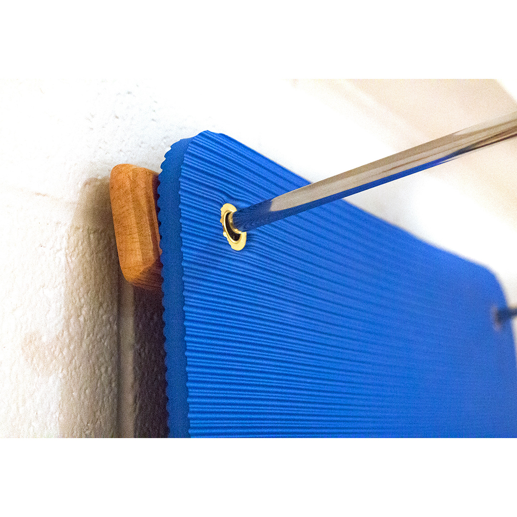 Yogaaccessories Adjustable Wooden Mat Hanger