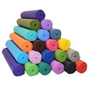1/4'' Extra Thick Deluxe Yoga Mat by YOGA Accessories
