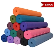 YOGA Accessories 1/8'' Classic Yoga Mat - Buy One Get One Free
