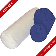 Supportive Yoga Bolster Cover Bundle