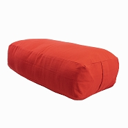 Supportive Rectangular Cotton Yoga Bolster - Limited Time Offer