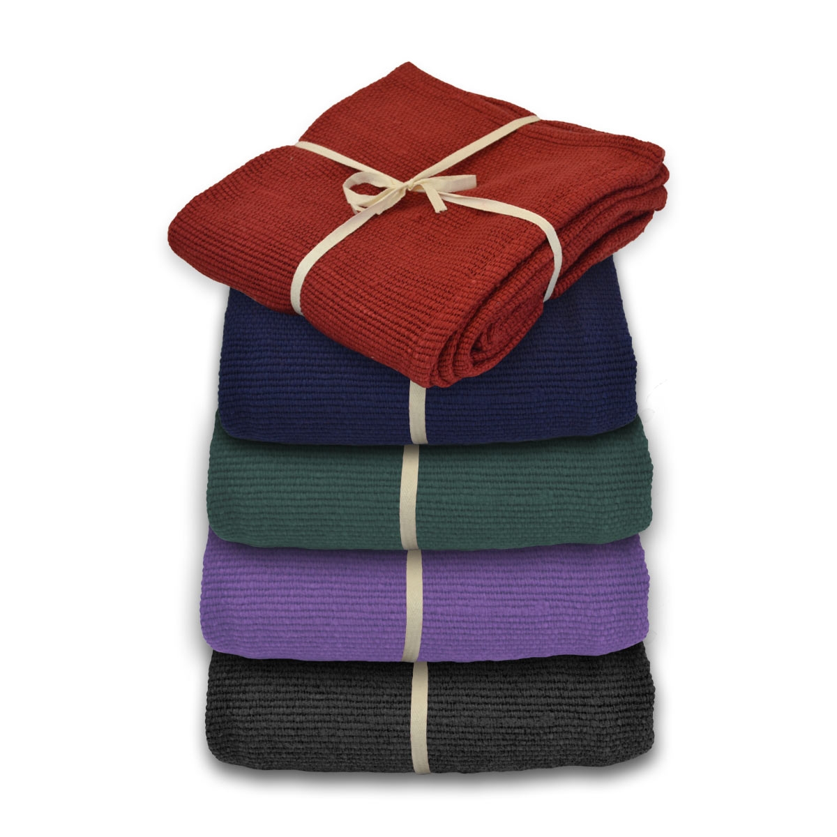 Deluxe Cotton Yoga Blanket without Tassels