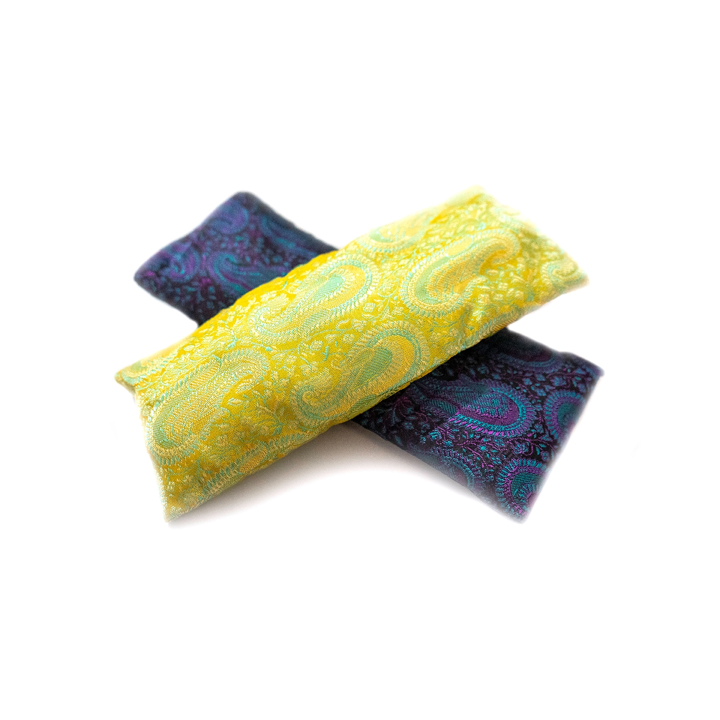 Lavender Scented Deluxe Silk Eye Pillow