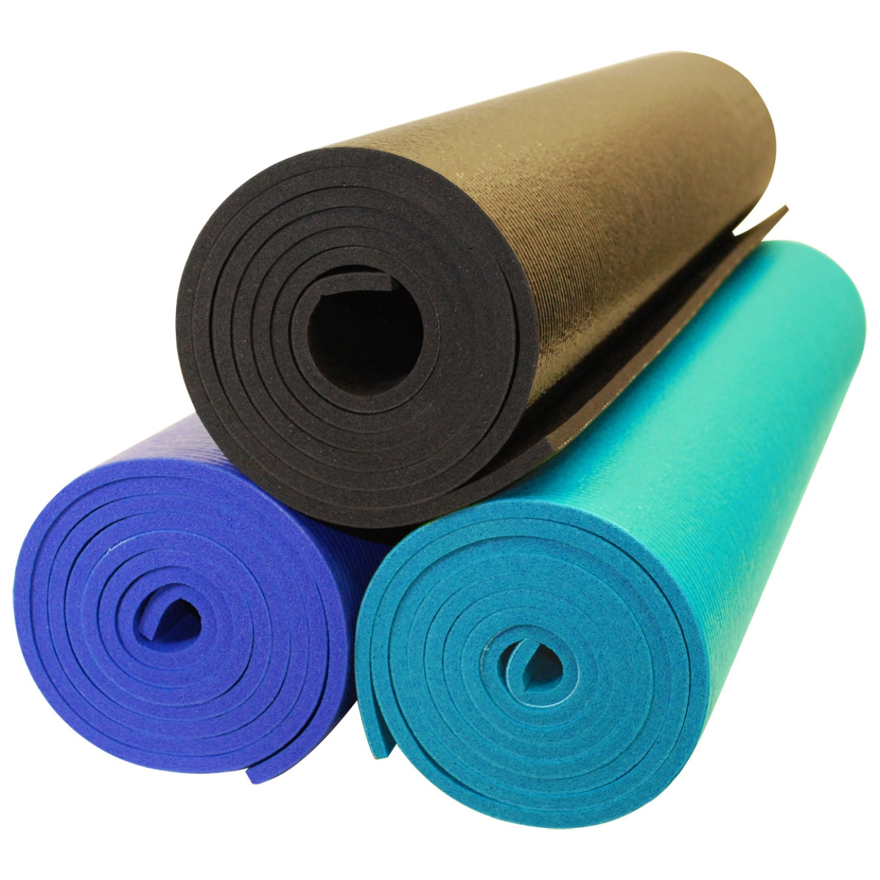 YOGA Accessories Premium Weight Yoga Mat - Buy One Get One Free