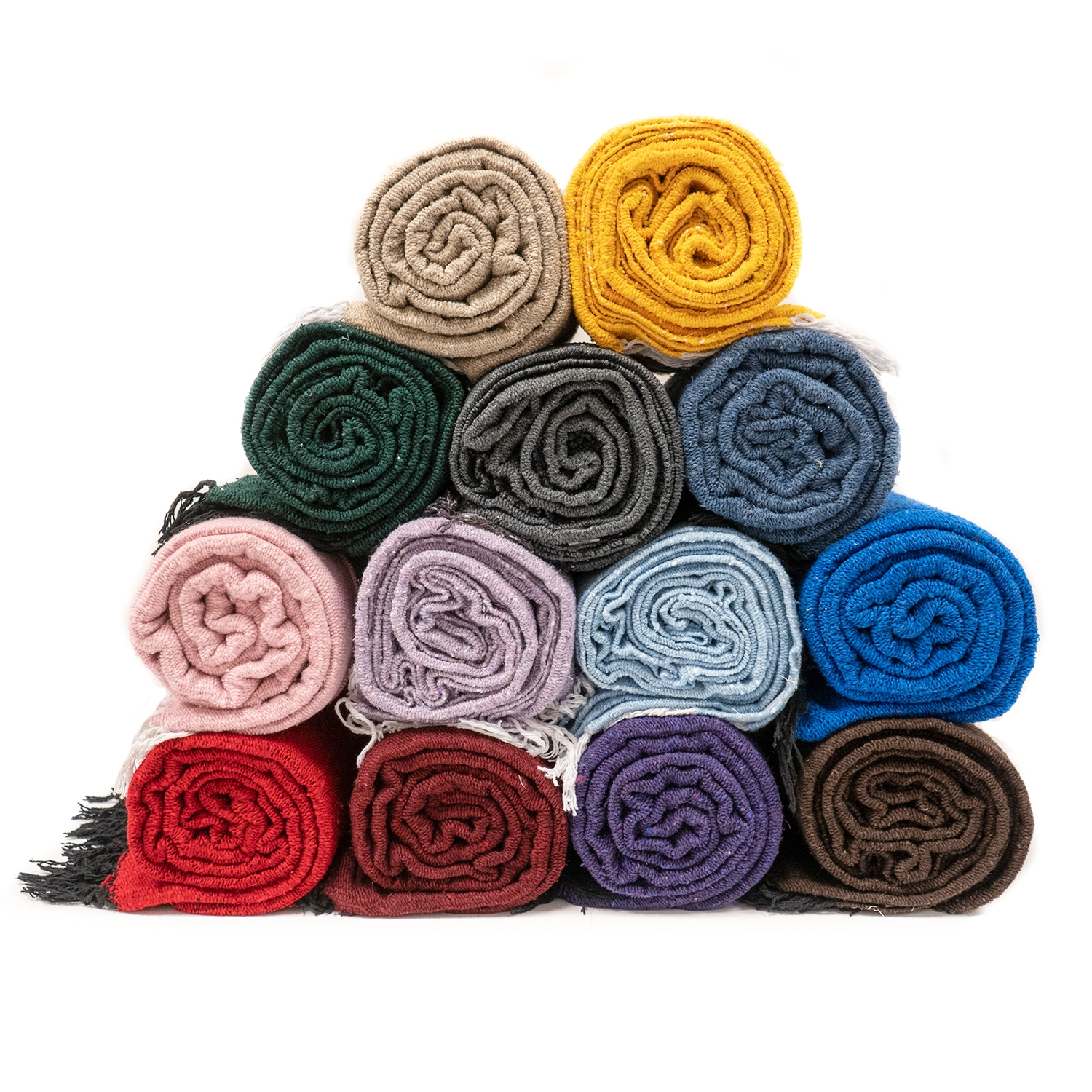 Solid Color Mexican Yoga Blanket