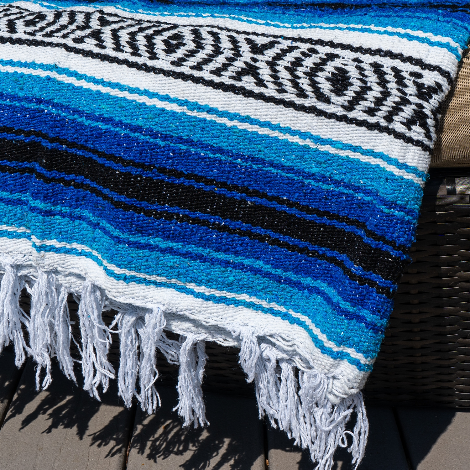 Summer Extra Heavy Mexican Yoga Blanket