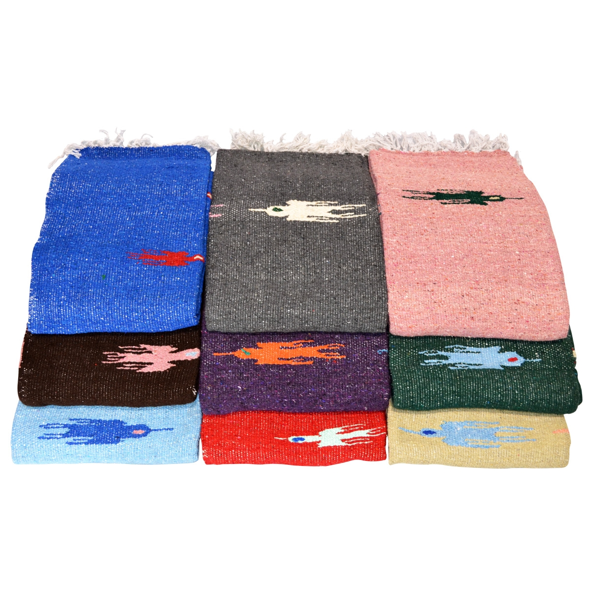 rug blanket rainbow fair market hand serape little products trade woven monte the striped mexican rugs