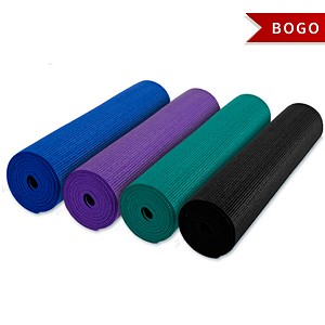 YOGA Accessories CLEAN Anti-Bacterial Yoga Mat - Buy One Get One Free