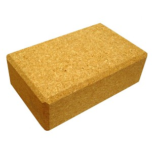 "3"" Cork Yoga Block"