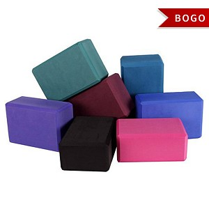 4'' Foam Yoga Block - Buy One Get One Free