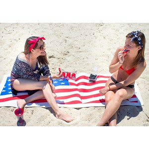 YOGAaccessories American Flag Yoga Mat